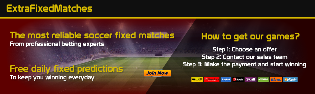Extra Fixed Matches - Fixed Matches
